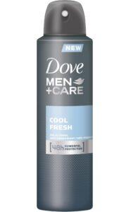 Dove Men Care Cool Fresh Deodorant spray