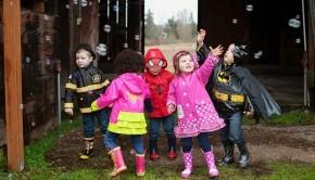 color kids regntøj
