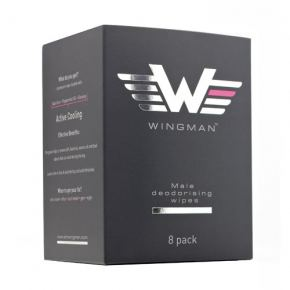 Wingman Male Deodorising Antiperspirant Wipes