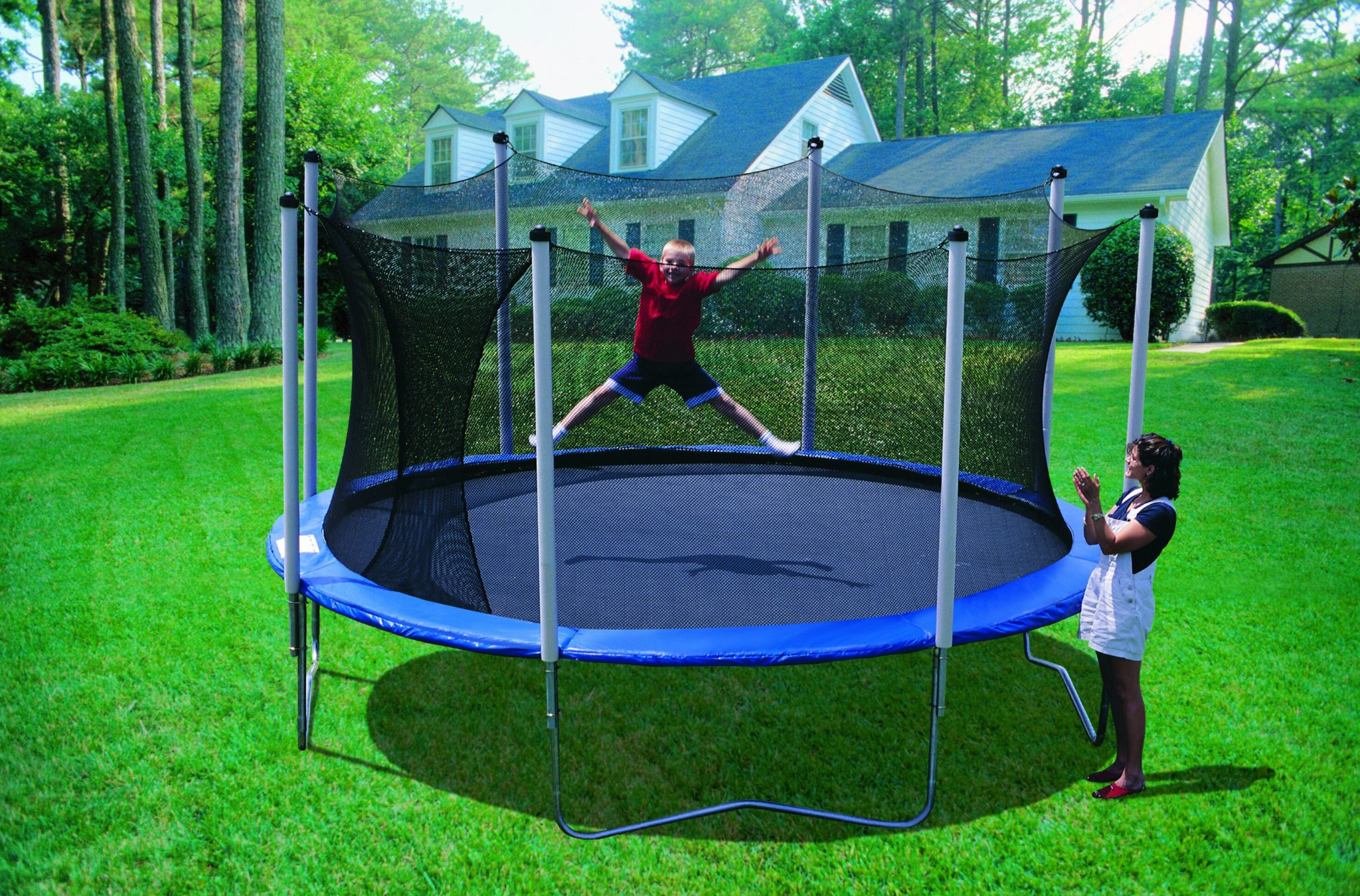 trampolin test 2015 kost og ordentlig ern ring. Black Bedroom Furniture Sets. Home Design Ideas