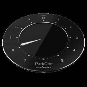 ParkOne Exclusive Sort Elektronisk P-skive
