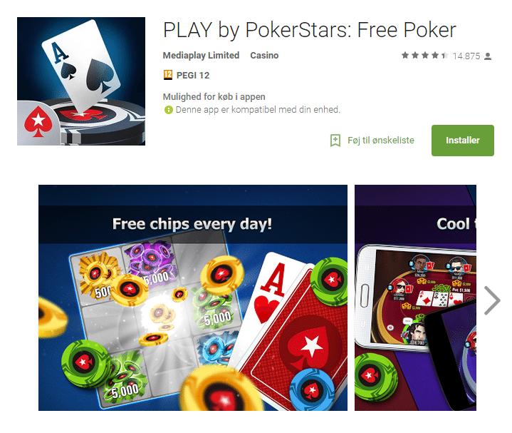 gratis poker spil på nettet Gentofte