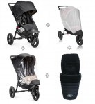Baby Jogger City Elite Single + Insektnet + Regnslag + Footmuff_1